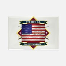 5th New Hampshire Volunteer Infantry Magnets