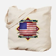 5th New Hampshire Volunteer Infantry Tote Bag