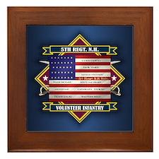5th New Hampshire Volunteer Infantry Framed Tile