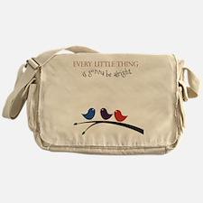 Three Little Birds Messenger Bag