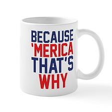Because Merica Thats Why Mugs
