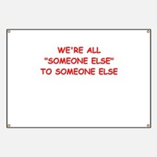 someone else Banner
