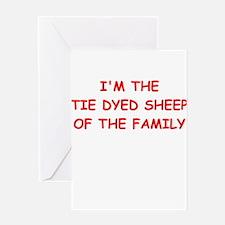 black sheep Greeting Cards