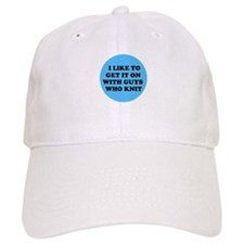 I Like to Get It On with Guys Baseball Cap