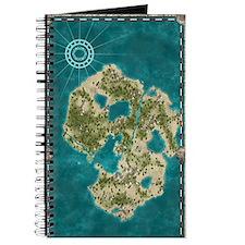 Pirate Adventure Map Journal