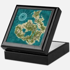 Pirate Adventure Map Keepsake Box