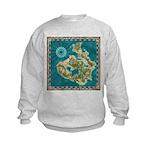 Pirate Adventure Map Sweatshirt