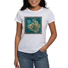 Pirate Adventure Map T-Shirt