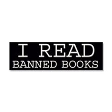 Unique Ban books Car Magnet 10 x 3