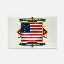 17th Michigan Volunteer Infantry Magnets