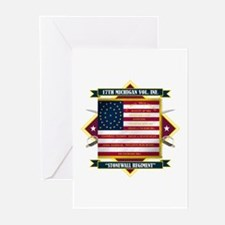 17th Michigan Volunteer Infantry Greeting Cards