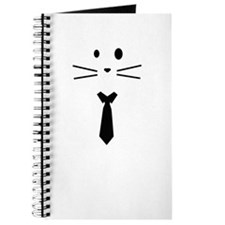 Cat with Tie Journal