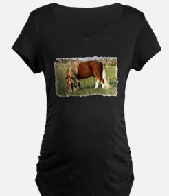 Stormy in the Field Maternity T-Shirt