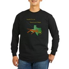 South Texas Nosework Dogs Long Sleeve T-Shirt