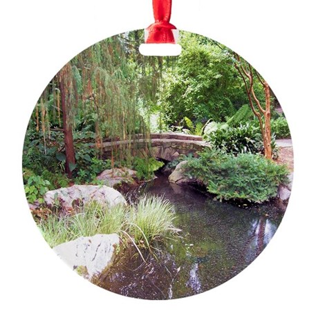 Bridge over pond ornament by suit yourself Pond ornaments