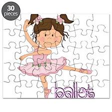 Purple Ballerina Puzzle