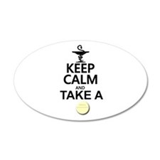 Keep Calm and Take a Chill P Wall Decal