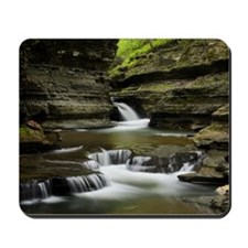 Buttermilk Falls, New York Mousepad