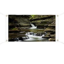 Buttermilk Falls, New York Banner