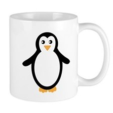 Black and White Penguin Mugs