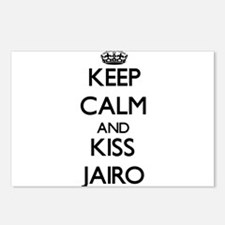 Keep Calm and Kiss Jairo Postcards (Package of 8)