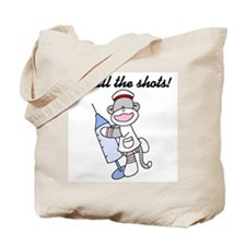 Nurse I Call the Shots Tote Bag