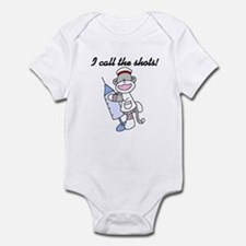 Nurse I Call the Shots Infant Bodysuit