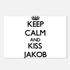 Keep Calm and Kiss Jakob Postcards (Package of 8)