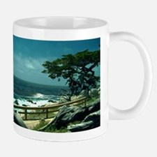 Lone Cypress Tree Mugs