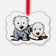 Winston and Finn Ornament
