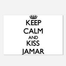Keep Calm and Kiss Jamar Postcards (Package of 8)