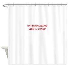 rationalizing Shower Curtain
