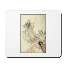 Queen of the Fairies with pix Mousepad