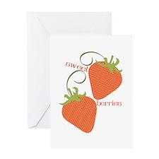 Sweet Berries Greeting Cards