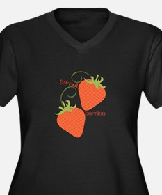 Sweet Berries Plus Size T-Shirt