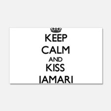 Keep Calm and Kiss Jamari Wall Decal