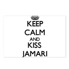Keep Calm and Kiss Jamari Postcards (Package of 8)