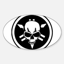 Yamaha skull Decal