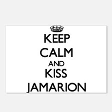 Keep Calm and Kiss Jamarion Postcards (Package of