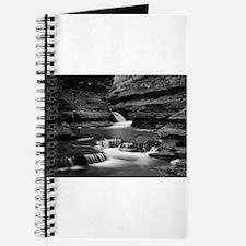 Buttermilk Falls, New York (BW) Journal