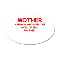 mother Wall Decal