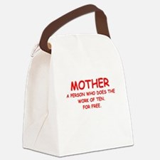 mother Canvas Lunch Bag