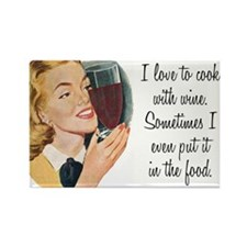 Wine humor Rectangle Magnet (10 pack)