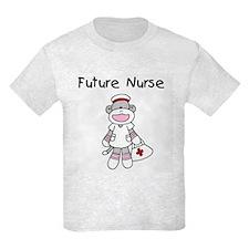 Sock Monkey Future Nurse T-Shirt