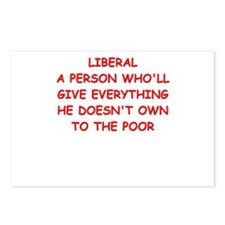 liberal Postcards (Package of 8)