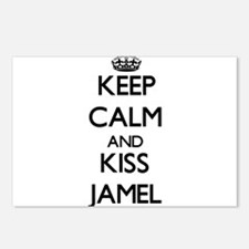 Keep Calm and Kiss Jamel Postcards (Package of 8)