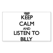 Keep Calm and Listen to Billy Decal