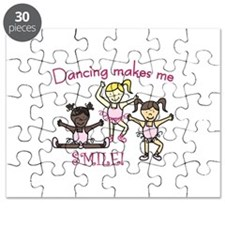 Dancing makes me SMILE! Puzzle