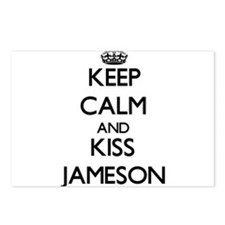 Keep Calm and Kiss Jameson Postcards (Package of 8