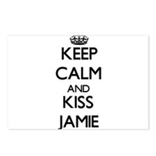 Keep Calm and Kiss Jamie Postcards (Package of 8)